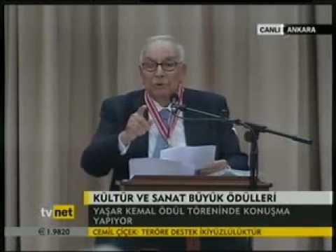 YAŞAR KEMAL --) ADAM GİBİ DURMASINLAR ÖYLE!!!