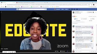LDN Black Lives Matter, virtual protest.