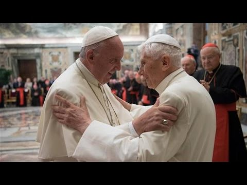 Pope Francis and Pope Benedict Make Joint Appearance