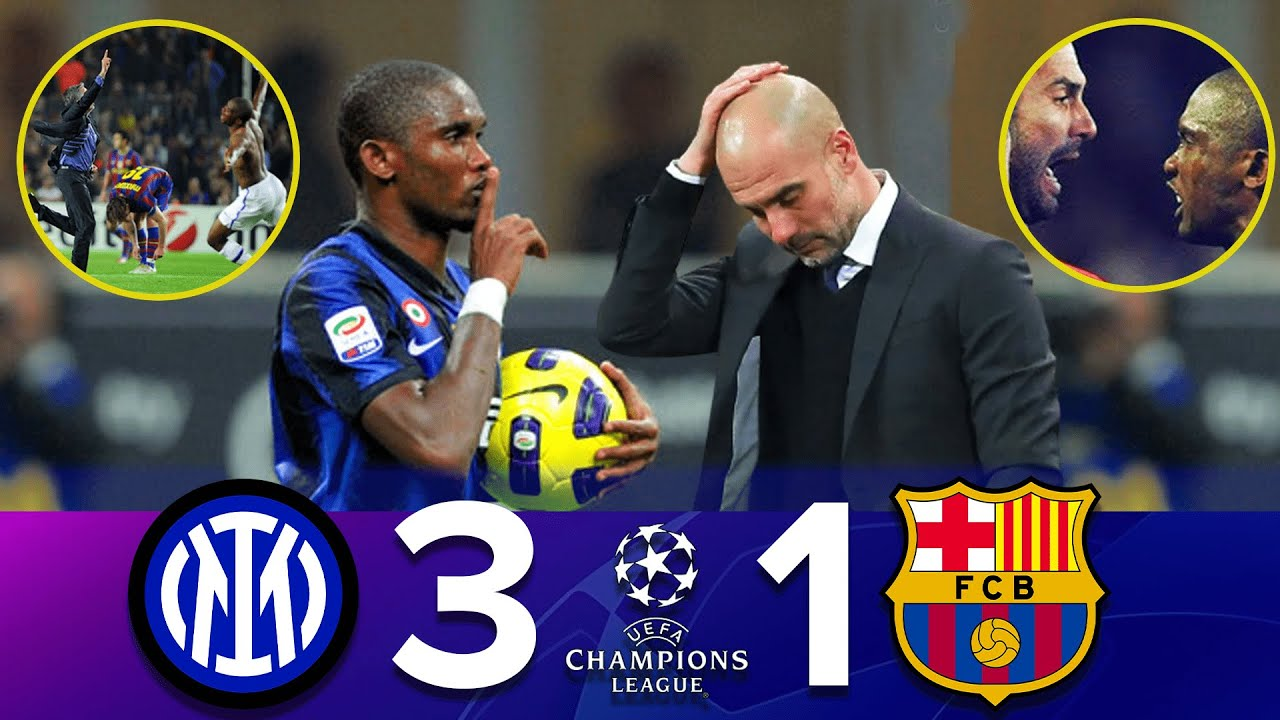 Download The Day Samuel Eto'o Finally Get Revenge and Destroyed Pep Guardiola