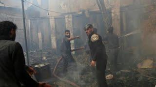 الأمم المتحدة تطالب بإجلاء مرضى يواجهون خطر الموت في الغوطة الشرقية بسوريا