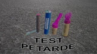 TEST PETARDI + VATROMET