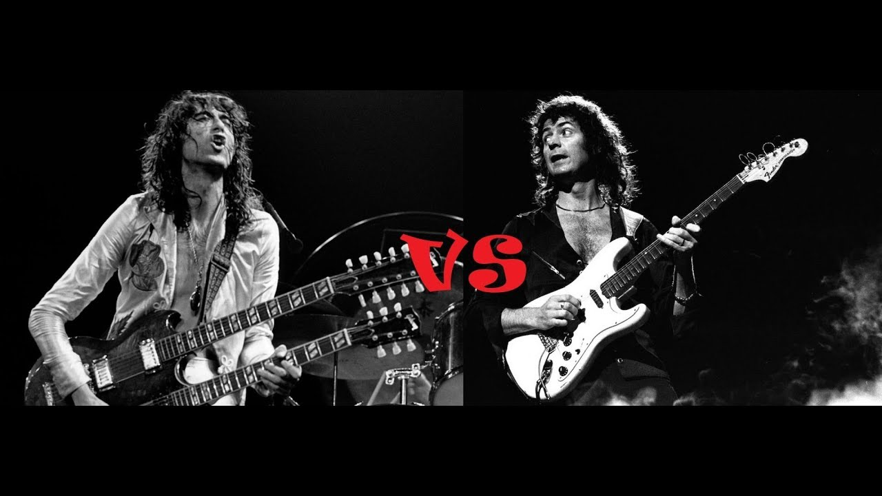 Jimmy Page vs Ritchie Blackmore Maxresdefault