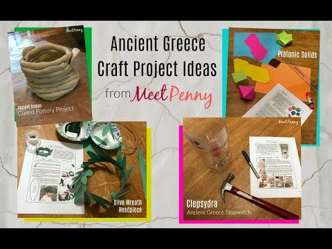 Ancient Greece Unit Study Project Ideas