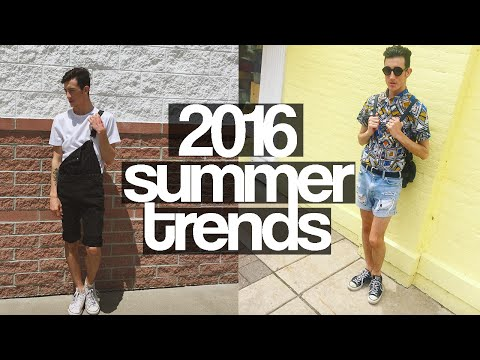 TOP FASHION TRENDS SUMMER 2016 | Men's Fashion