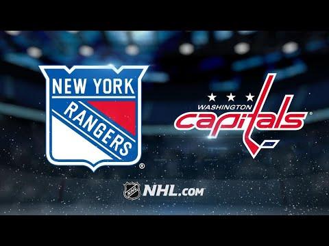 Eller, Kuznetsov help Caps edge Rangers in OT, 3-2