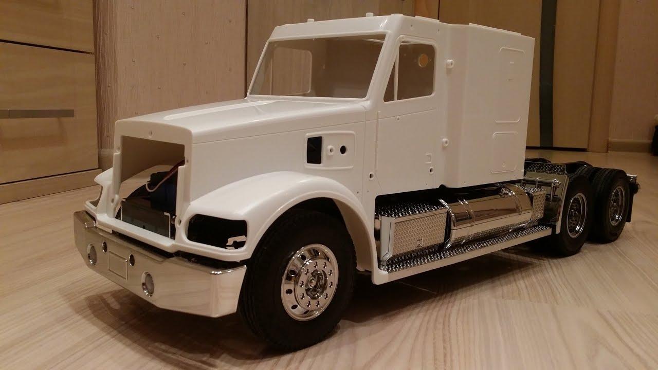 Модели грузовиков на радиоуправлении своими руками