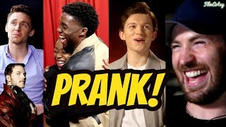 Avengers: Infinity War Cast Hilarious Pranks(Part-1) | Try Not To Laugh 2018