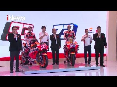 Tim Repsol Honda Resmi Perkenalkan Kakak Beradik Marquez Jelang Moto GP 2020 - INews Malam 05/02