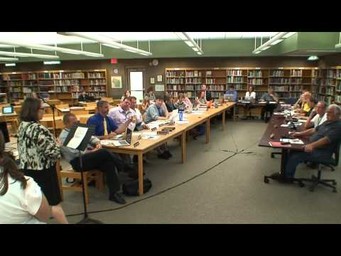 Board Meeting September 8th 2014