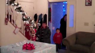 "Military Dads ""Coming Home"" Surprise from Iraq on Christmas Eve"