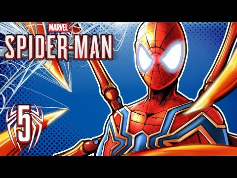 SPIDER-MAN PS4 - IRON SPIDER SUIT & GTA 4 EASTER EGG!  (Walkthrough Gameplay) Ep. 5