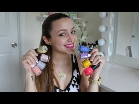 My Favorite Nail Polishes for Spring & Summer!