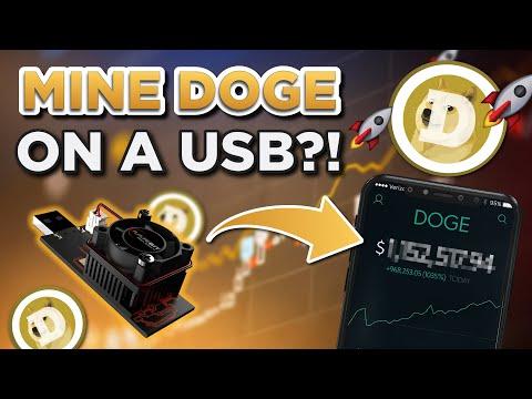 USB Dogecoin Mining