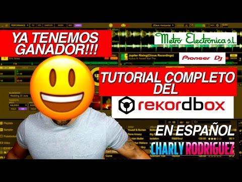 RekordboxDj  Tutorial Completo en Español Y ganador del concurso