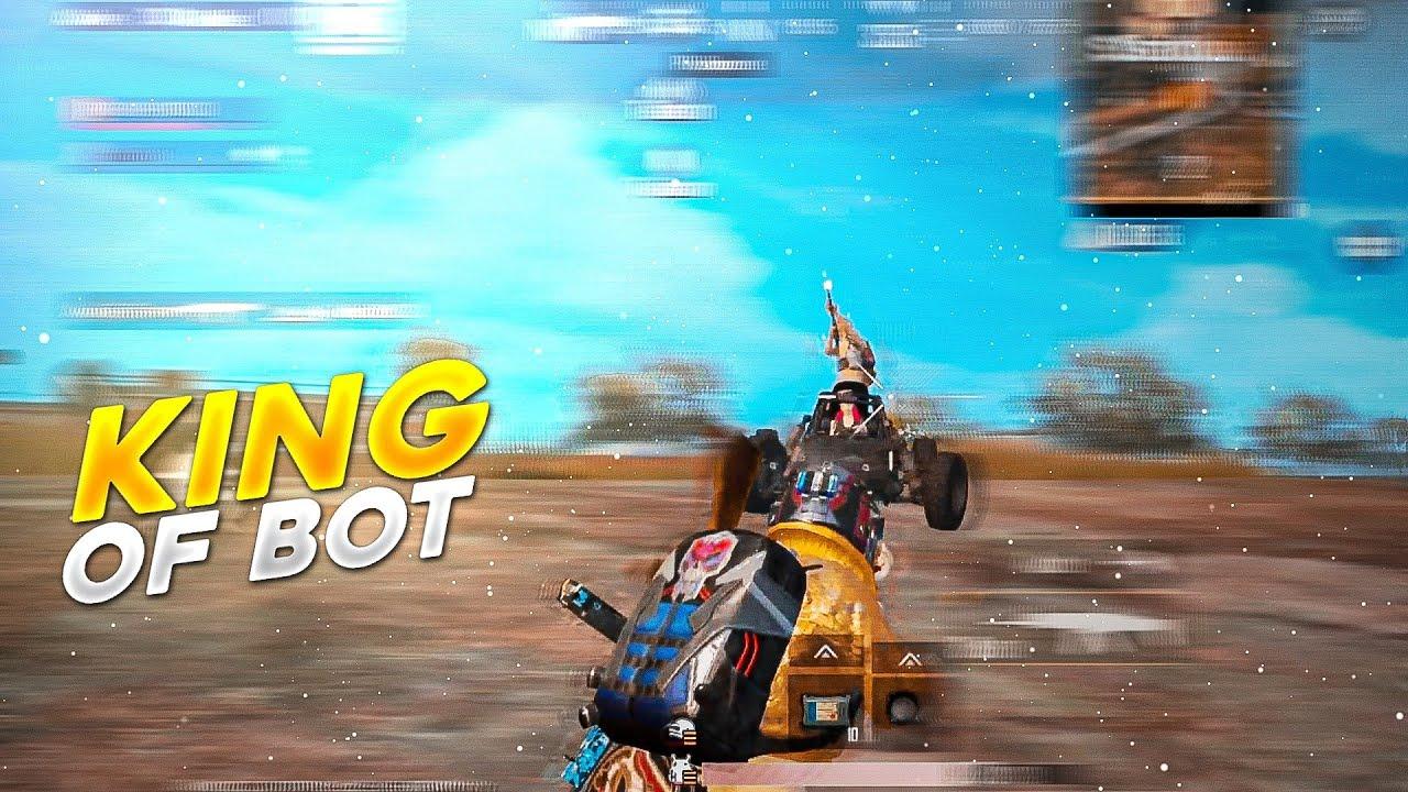 King Of Bot 🤖 | 4 Fingers + Full Gyroscope | Pubg Lite Montage | Pubg Mobile Lite | Physco Lite