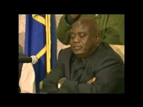 Discours de Laurent Desiré Kabila, l'ex président de la RD Congo, le Mzee en Belgique 1998