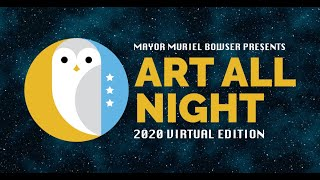 DC Art All Night : Virtual Edition - Saturday Sept 19th