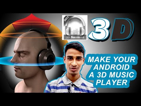 XPlayer 3D  Android 3D Music Player App Review  True 3D Surround Music Player #2017