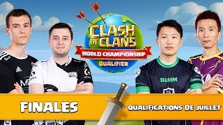🔴QUALIFICATIONS JUILLET WORLD CHAMPIONSHIPS | Finale | Clash of Clans