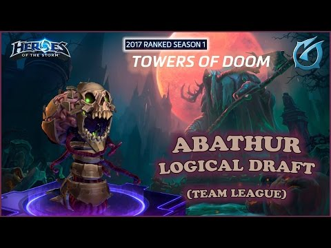 Grubby | Heroes of the Storm - Abathur - Logical Draft - TL - 2017 S1 -  Towers of Doom