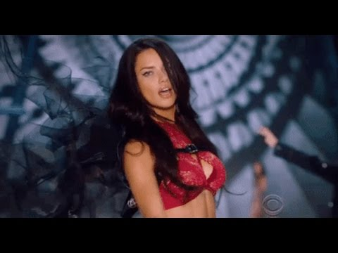 Adriana Lima Victoria's Secret Runway Walks (1999 - 2016) HD