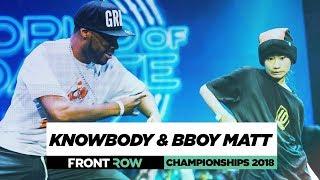 Knowbody & Bboy Matt | FrontRow | World of Dance Championships 2018 | #WODCHAMPS18