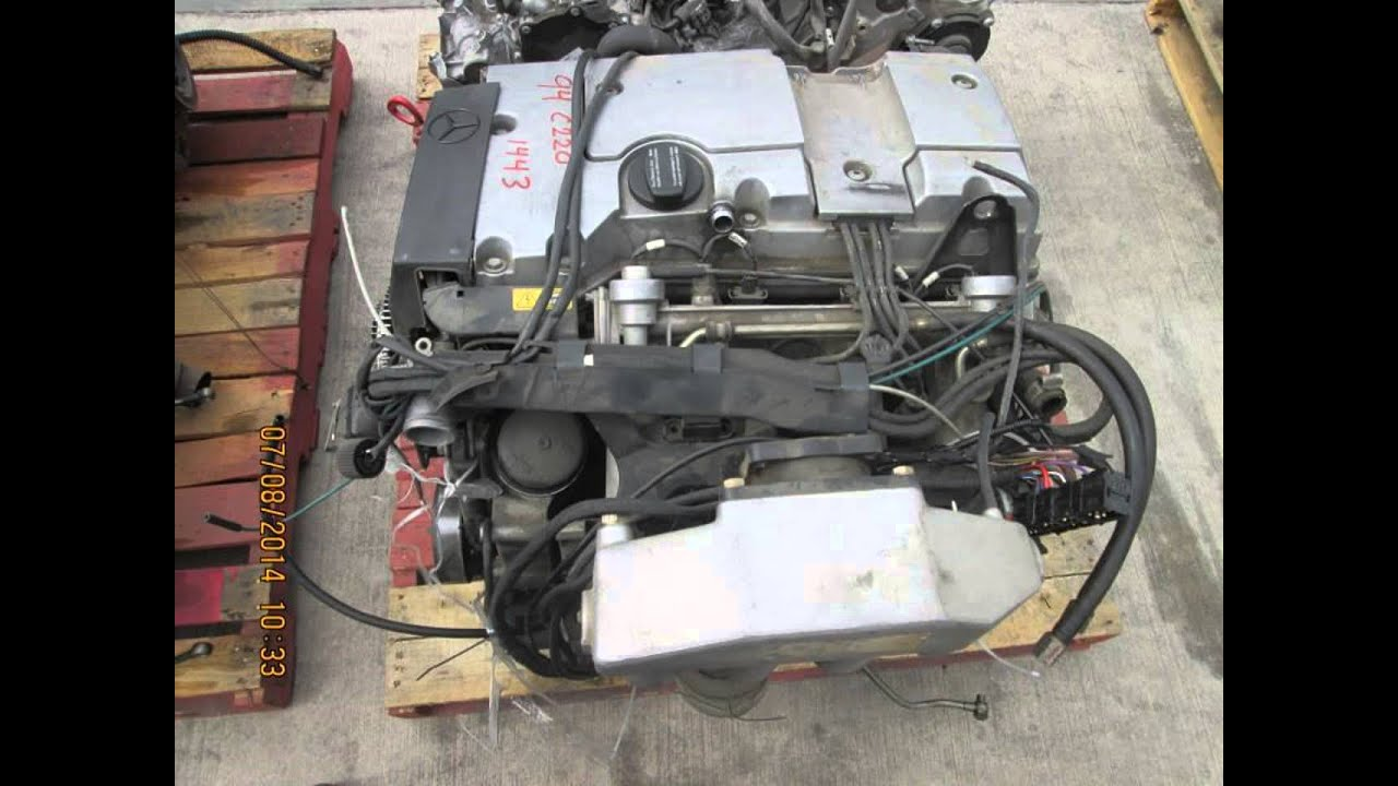 1994 mercedes c220 engine motor 2 2l runs and drives for 1994 mercedes benz c220 parts