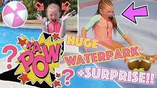 AMAZING SURPRISE FOR ESMÉ! + HUGE WATERPARK TAKEOVER!