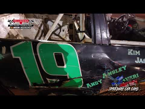 #19 Kaden Cotton - Hotshots - 4-27-19 Talladega Short Track - In Car Camera