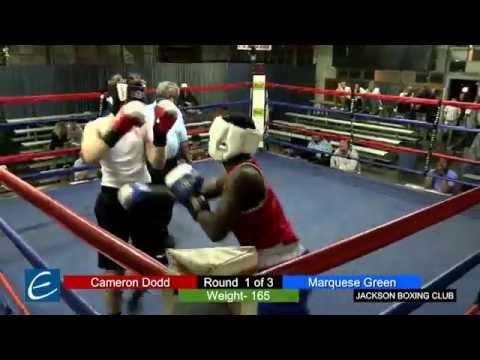 Jackson, Tn Boxing 26MAR2016 C Dodd vs M Green