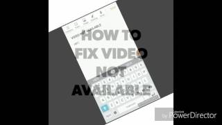 HOW TO FIX THIS VIDEO IS UNAVAILABLE