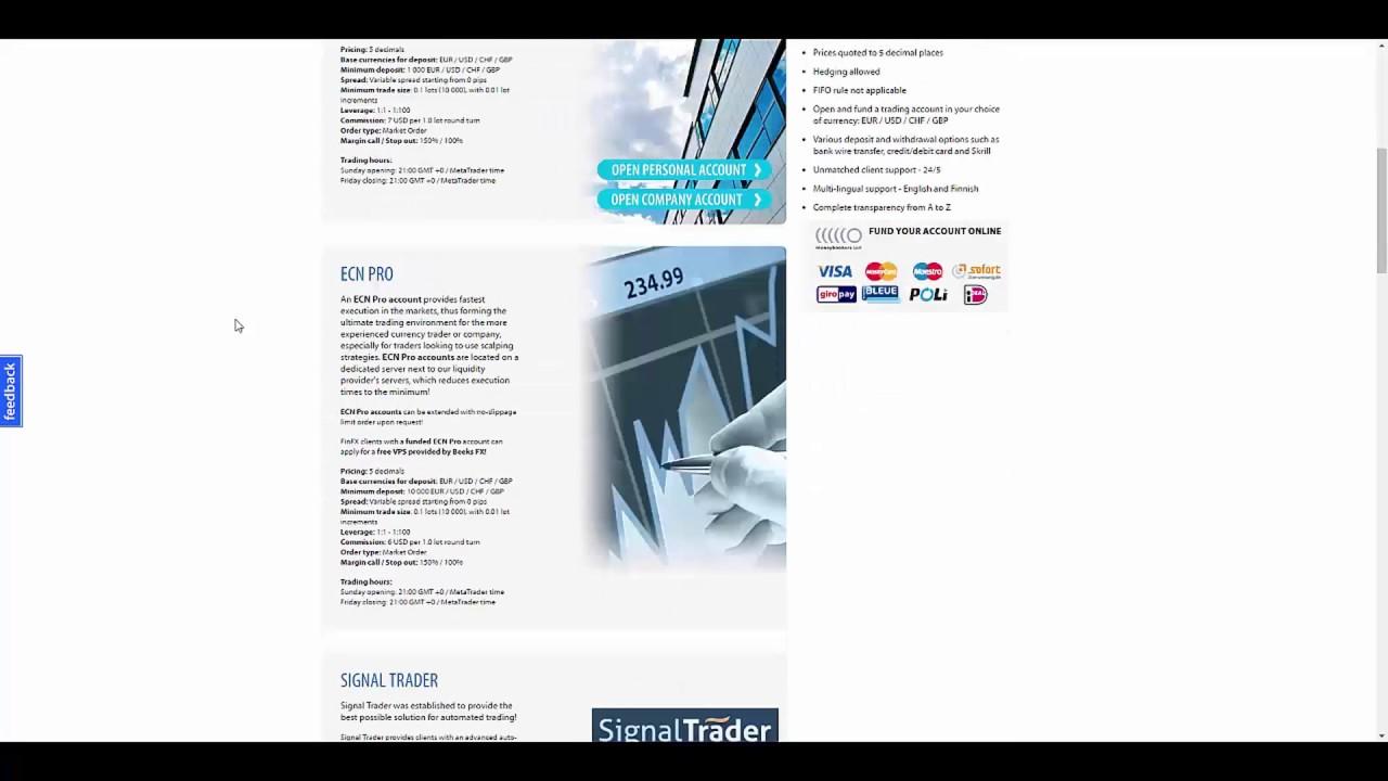 FinFX Review | Forex Broker Trading Reviews | CashBack & Rebates