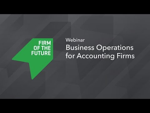 Business Operations for Accounting Firms