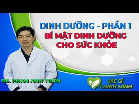Bí Mật Dinh Dưỡng Cho Sức Khỏe Cùng Thạc Sĩ Bác Sĩ Phan Anh Tuấn | Bác Sĩ Chính Mình