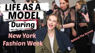 What It's Like To Model During New York Fashion Week + What Models Eat For The Runway // Sanne Vloet