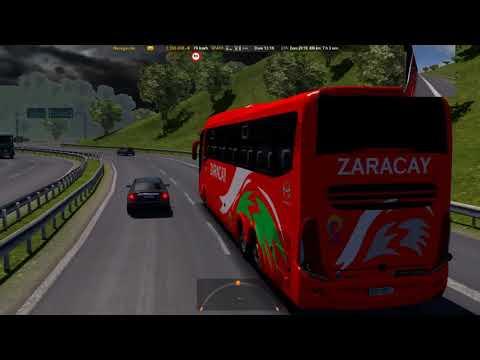 Mapa Ecuador Mod Bus Ruta: Quito - Guayaquil [G7 1200 6x2] | Coop. Zaracay