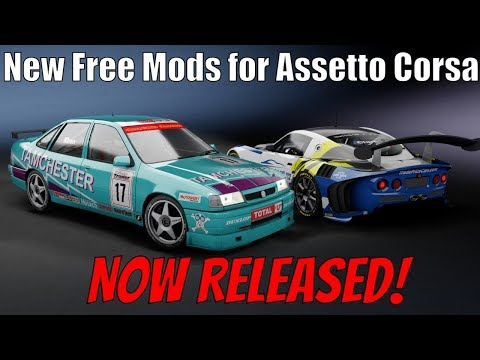 NOW AVAILABLE! New Free Assetto Corsa Mods From Shaun Clarke