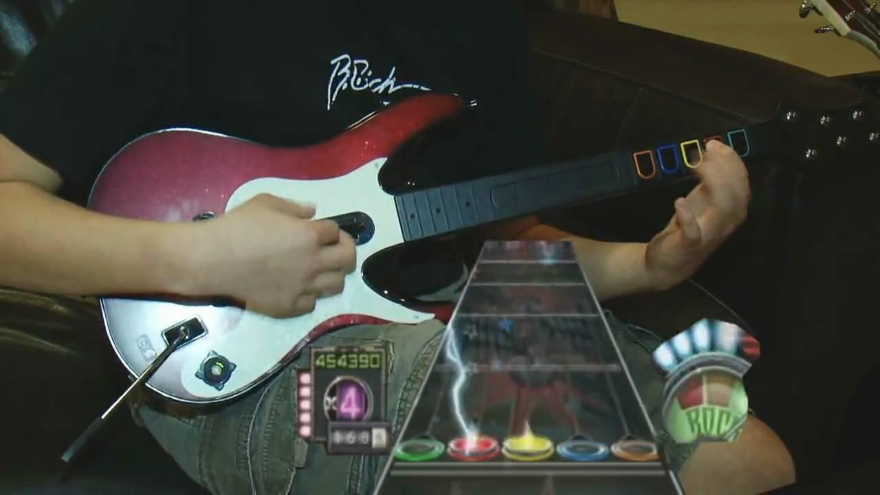 Guitar hero 3 through the fire and flames 100 expert fc dragonforce hd youtube - Guitar hero 3 hd ...