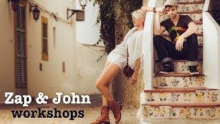 Zap & John workshops: Female vs. Male