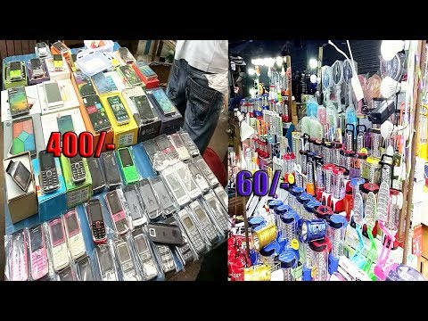 Chor bazaar Kolkata |chandani chowk| exploring cheap mobile, camera & light [Kolkata VLOG-1]
