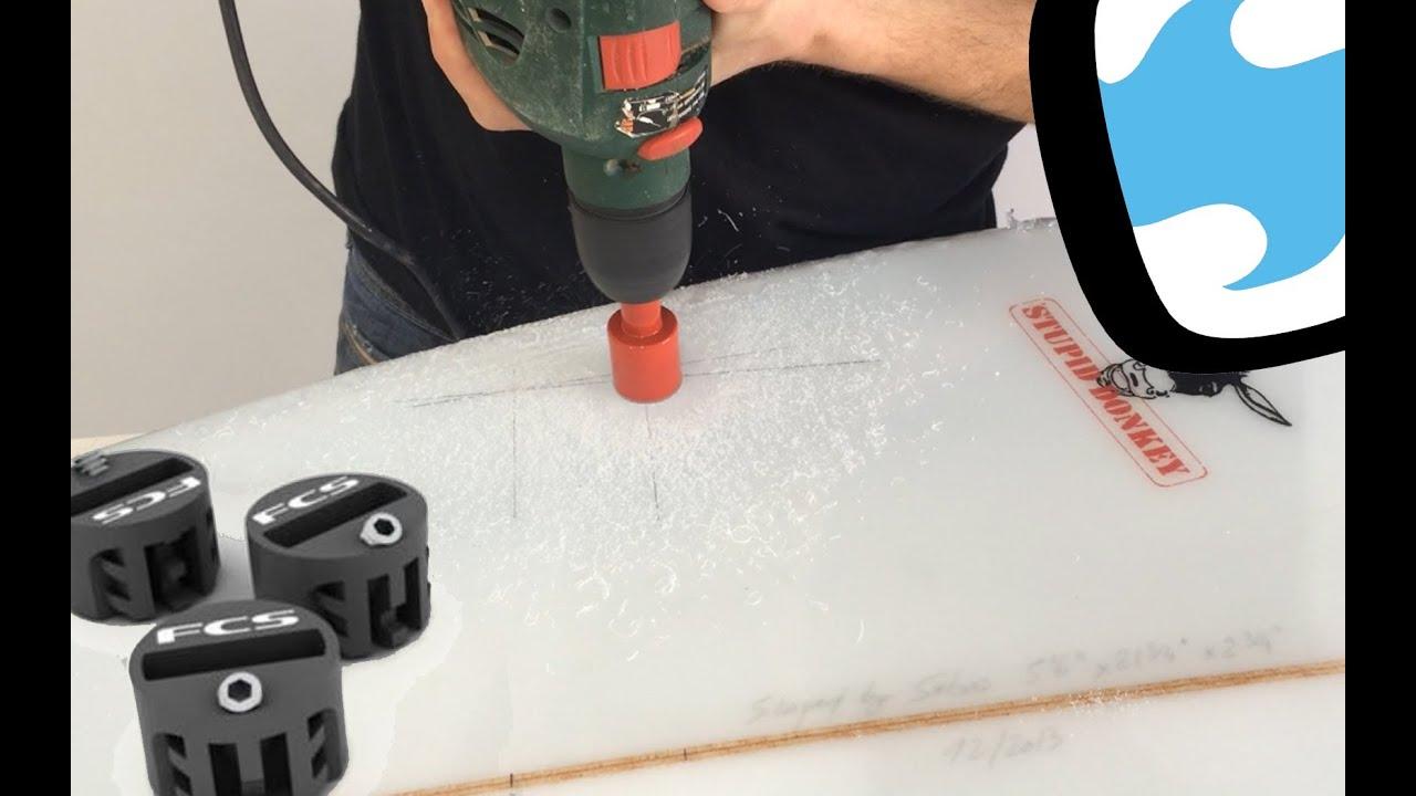 Keenso Kit de Relleno Aletas de Tablas de Surf con Kit de Tornillos de Fijaci/ón