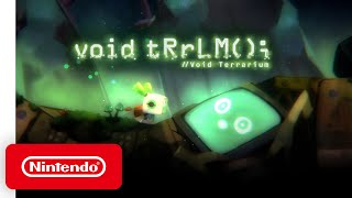 Void Terrarium - Release Date Announcement - Nintendo Switch