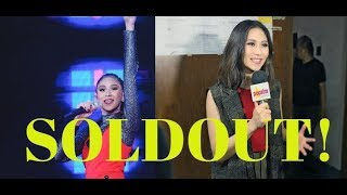 SOLDOUT! Sarah Geronimo's Concert SOLDOUT in 3 MINUTES