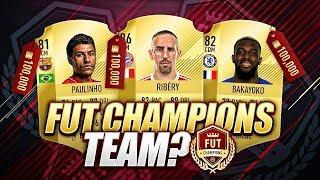 BEST FUT CHAMPIONS TEAM?