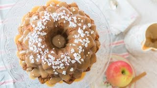 Bundt Cake de manzana y caramelo - Receta - María Lunarillos | tienda & blog