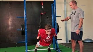 suspension body trainer upper body exercises   instant speed