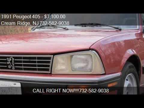 1991 peugeot 405 505 sw8 for sale in cream ridge, nj 08514 - youtube