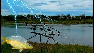 Плохая погода для рыбалки только не для меня Рыбалка в дождь