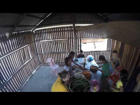 Volunteer work at Aspire Orphanage in Siem Reap - Cooking for 70 kids